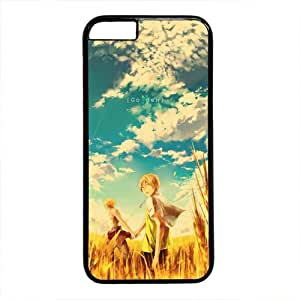 Anime iPhone 6 Case, Fashion Design Painting Anime Plastic Back Cover Case for iPhone 6