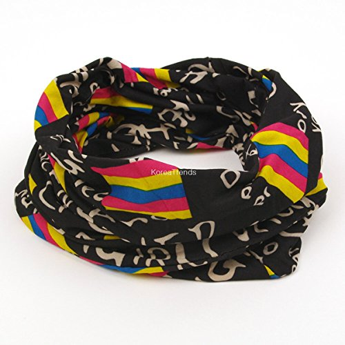 Magic Multi Scarf - Transform Scarf & Hat & Bandana , turn (Multi Magic Scarf)