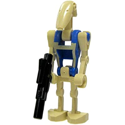 LEGO Star Wars LOOSE Mini Figure Battle Droid Pilot with Blaster [Version 3]: Toys & Games