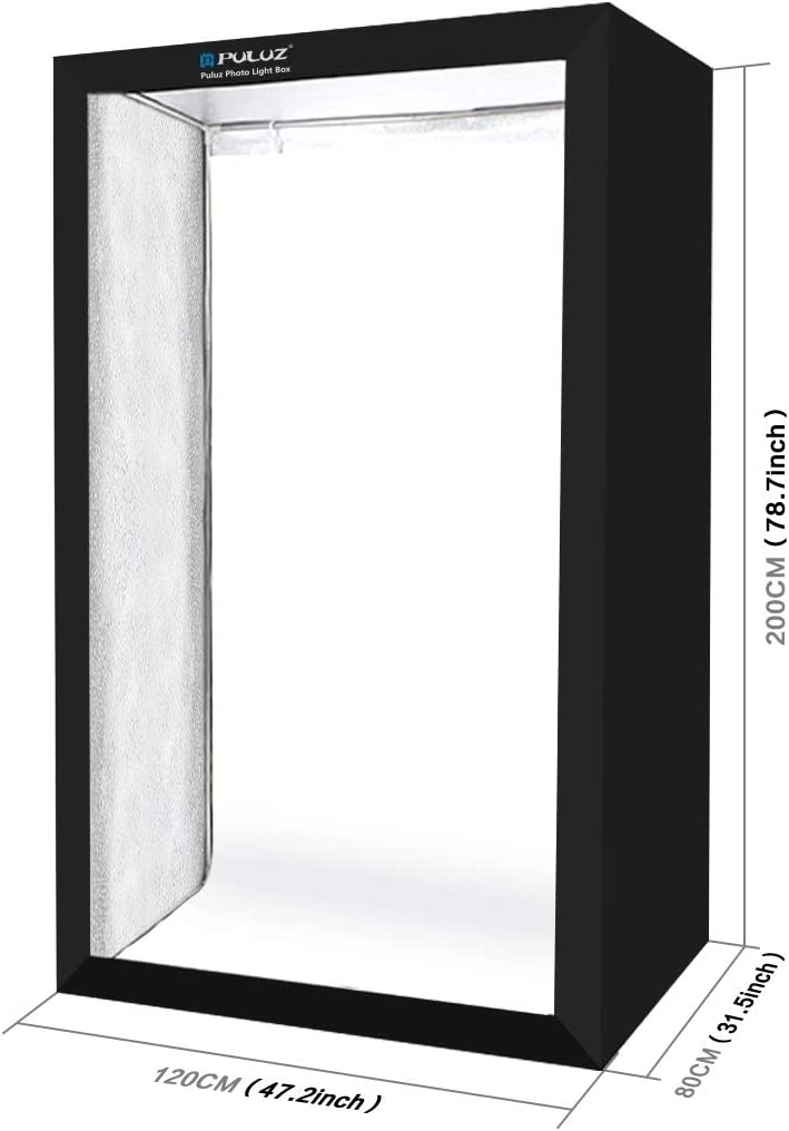 Color : Color1 MEETBM ZIMO,200cm Studio Box 6 Light Strip Bars 240W 5500K White Light Photo Lighting Shooting Tent Kit for Clothes//Adult Model Portrait US Plug