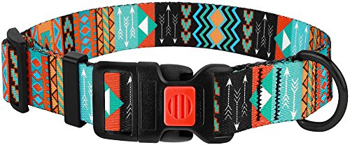 Pictures of CollarDirect Nylon Dog Collar with Buckle Tribal 6