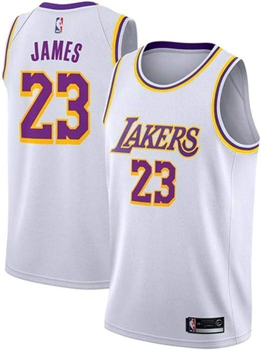 CHXY NBA Camiseta De Baloncesto para Hombre, Lebron James, 23 NBA ...