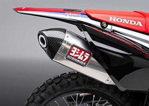 Ss Full Exhaust - YOSHIMURA Race RS-4 Full Exhaust SS-SS-CF for 2017 Honda CRF250L/Rally, 123400D520