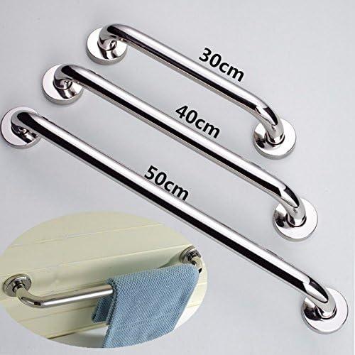 30 cm TOOGOO Nuova Vasca da Bagno Toilette Corrimano in Acciaio Inox Maniglione Manubrio Supporto di Sicurezza per Doccia Maniglia portasciugamani