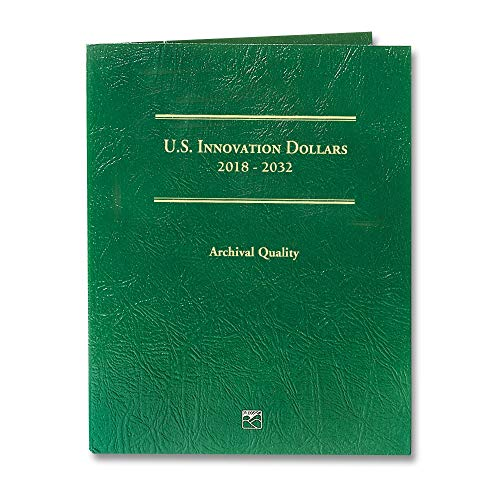 2019 - American Innovation Dollars Folder FREE FIRST Coin- Holds 57 Coins Dollar Uncirculated US Mint