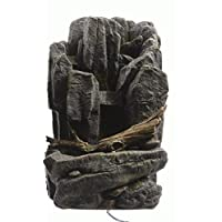 Indoor Table Water Fountain Feature - Rock & Trunk Wall - 2 Designs to choose from