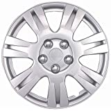 "Drive Accessories KT-1003-15S/L, Toyota Solara, 15"" Silver Replica Wheel Cover, (Set of 4)"