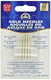 DMC 6133 Embroidery Hand Needles, Gold