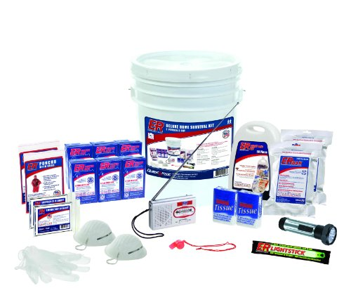 ER Emergency Ready SKH2SR 2 Person Standard Survival Kit by ER Emergency Ready