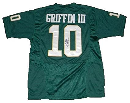 competitive price 7c69b 6ec8c Robert Griffin III Signed Jersey - Rg3#10 Nike - JSA ...
