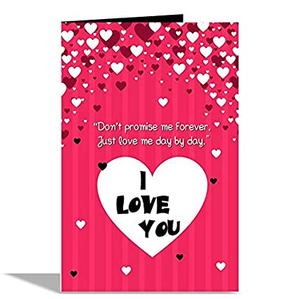Alwaysgift i love u valentines day greeting card amazon office alwaysgift i love u valentines day greeting card m4hsunfo