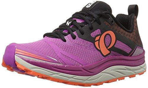Pearl iZUMi Women's w em Trail n 3 Runner, Purple Wine/Clementine, 6 B US (Pearl Izumi Trail Shoes)