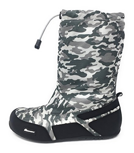 Xnowmate Camo Tall 42: Botas Impermeables, Ultra ligeras y plegables