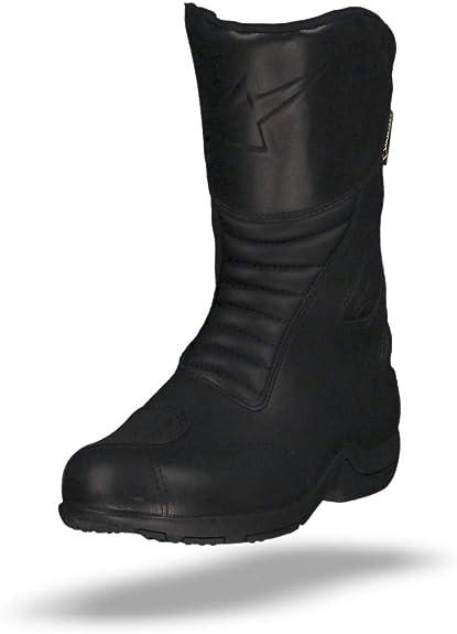 Black, EU Size 40 Alpinestars Web Gore-Tex Mens Street Motorcycle Boots