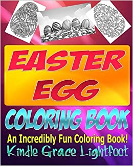 The Easter Egg Coloring Book Books For Children Hunt Adult