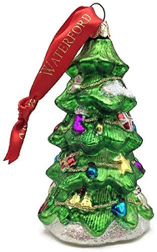 - Waterford Christmas Tree Ornament In Shape Of Tree