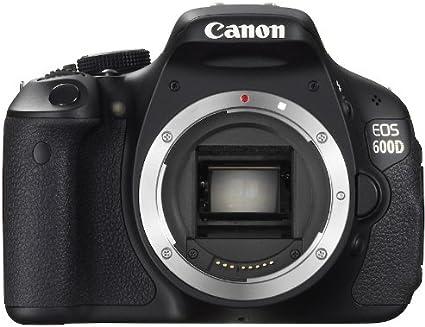 Canon EOS 600D - Cámara Réflex Digital 18.7 MP (Cuerpo) (importado ...