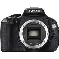 Canon EOS 600D Appareil photo numérique Reflex 18 Mpix Boîtier nu Noir