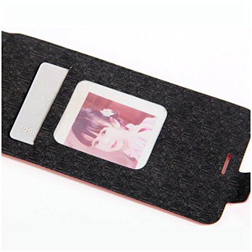 Funda Huawei Honor 5A,Manyip Caja del teléfono del cuero,Protector de Pantalla de Slim Case Estilo Billetera con Ranuras para Tarjetas, Soporte Plegable, Cierre Magnético G