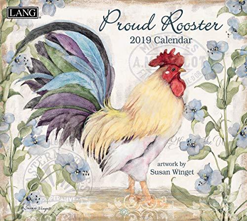 Lang Proud Rooster 2020 Wall Calendar (20991001936)