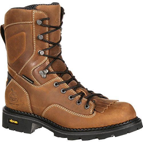 Georgia Boot Comfort Core Composite Toe Waterproof Logger Work -