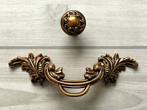 (Cabinet Pull Knob Antique, (Set of 1) -2.5
