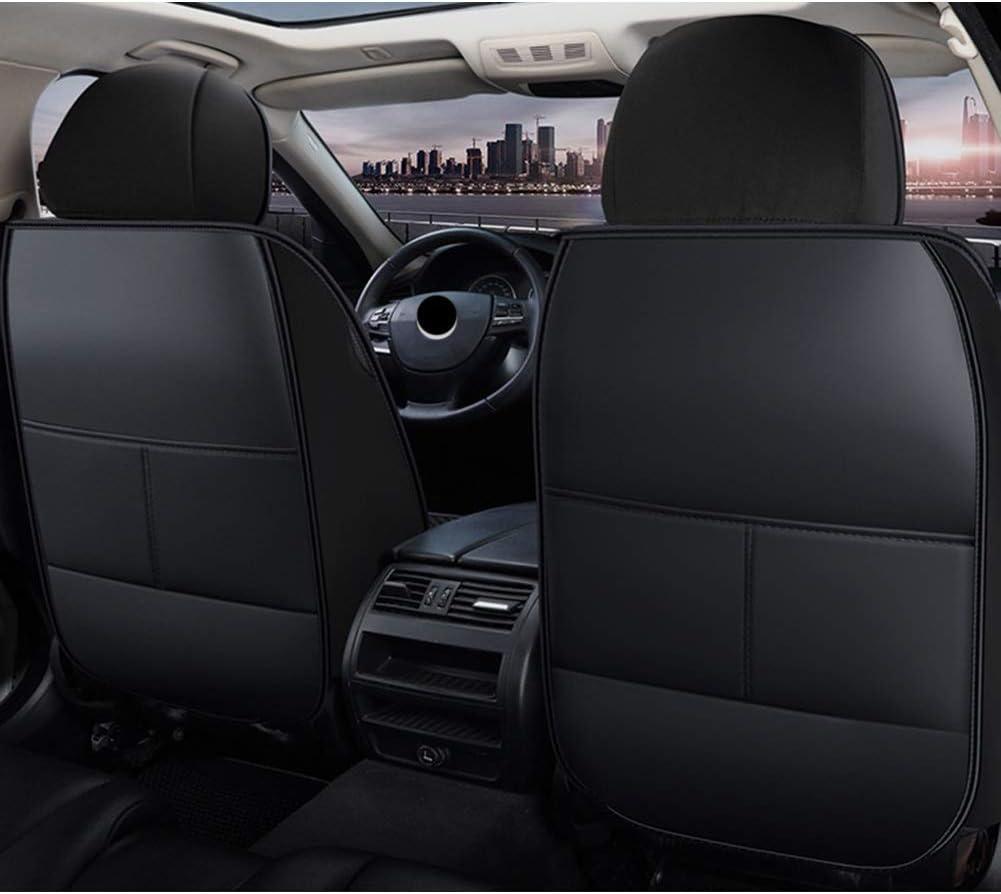 Couleur : Black camions VUS Housse siege voiture PU cuir Car Seat Cover Set /étanche universelle plus de voitures Utiliser toute lann/ée