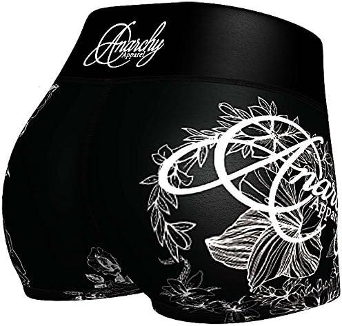 Anarchy Apparel Hot Pants, Vaeneti, Compression Shorts, Fitness Short, Gym