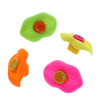 Amazon com: XSM 15 x Whistle Lips - Party Bag Fillers [Toy