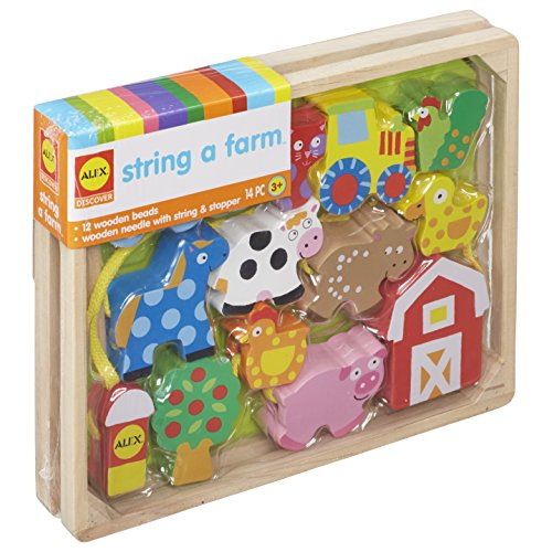 ALEX Toys Little Hands String A Farm (Farm Animals Arts And Crafts For Toddlers)