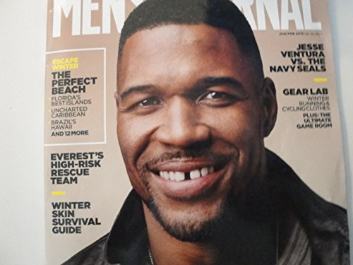 Mens Journal Magazine January February 2015  Michael Strahan Issue