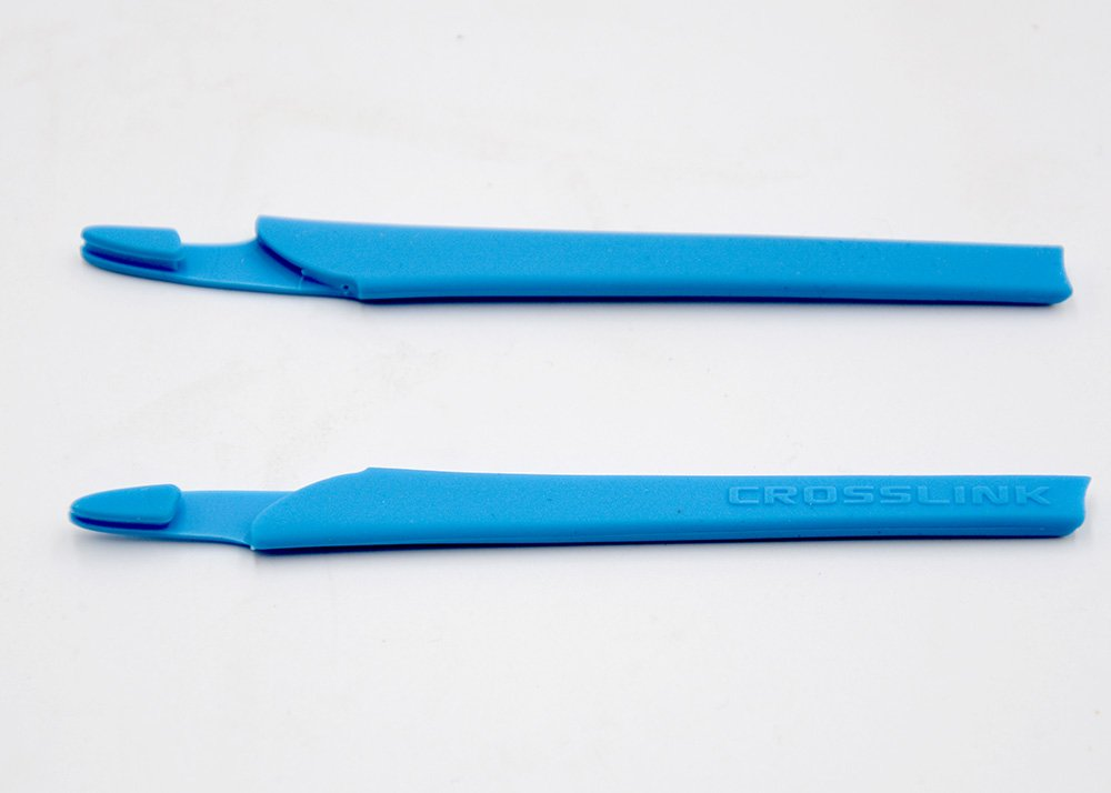 新しいメガネ耳Socks for ox8118 ox8027 ox8029 ox8030 ox8031 ox8033 ox3149 ox3128 ox3150 ブルー