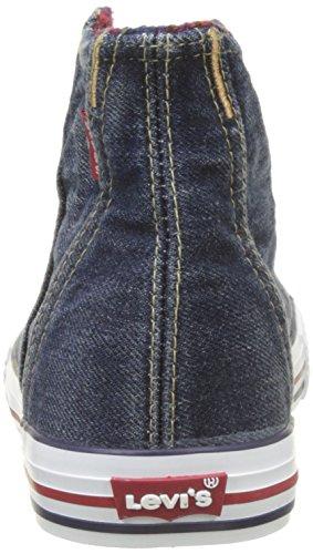 Levis Original Red Tab Hi Checker, Zapatillas Altas Para Niños Azul (Blue Denim)