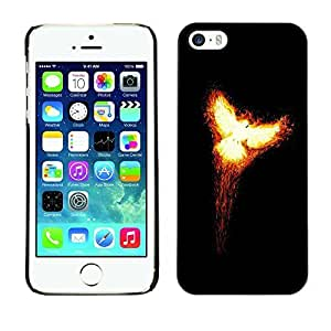 good AMAZING-BASE Smartphone Funny Back Image Picture case cover protective Black Edge for Apple Iphone 5c 5c - ou6Jh9cBcpW Flaming Phoenix 2