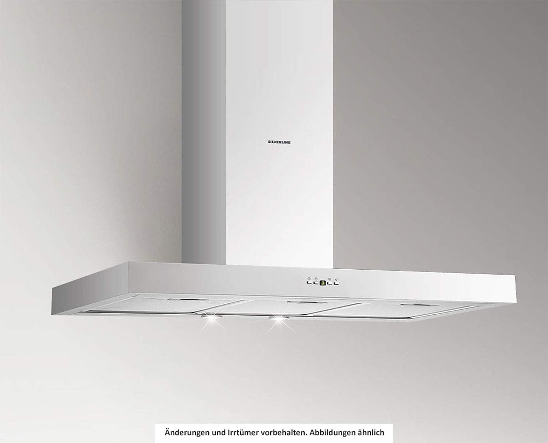 SILVERLINE Vera Eco VEW 800 E Wandhaube//Edelstahl 80 cm//A