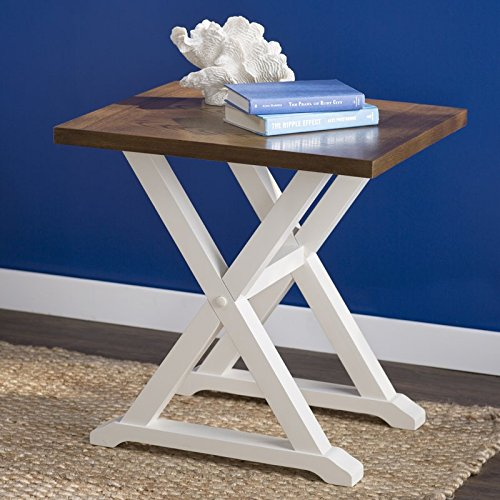 Nautical-Style-Randall-End-Table-Weathered-Oak-with-Antique-White