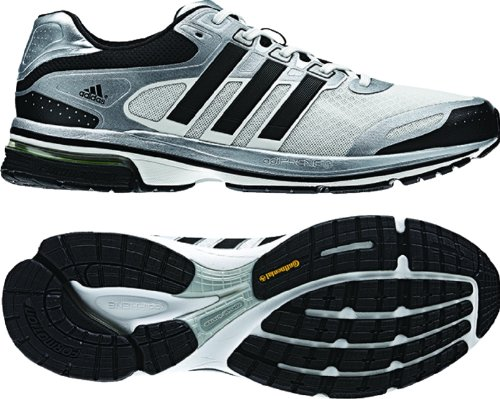 Glide Supernova Adidas Shoes (adidas Men's Super Nova Glide 5 Running Shoes (5, Running White/Black/Metallic Silver (Q32807)))