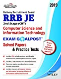 RRB JE 2nd Stage (CBT) Computer Science and Information Technology Exam Goalpost Solved Papers & Practice Tests, 2019