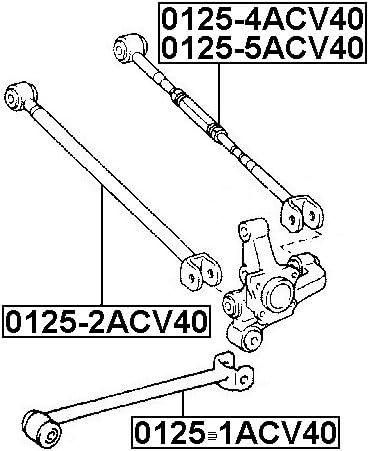 Fits LEXUS ES300 MCV30 2001-2006 Rear Track Control Rod Right Hand Rh