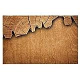 KESS InHouse Susan Sanders ''Natural Wood'' Rustic Nature Dog Place Mat, 13'' x 18''