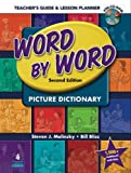 img - for Word by Word Picture Dictionary: Teacher's Guide & Lesson Planner (Book & CD-ROM) book / textbook / text book