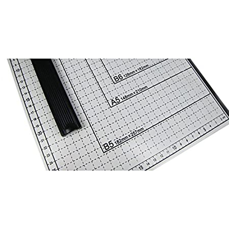 Airbrush-City Papierschneider Hebelschneider Fotoschneider 530x400mm B3 A3 B4 A4 B5 A5 B6 B7