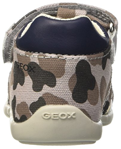 Geox B Kaytan H, Botines de Senderismo para Bebés Gris (GREY/NAVYC0665)