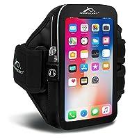 """Brazalete Armpocket Ultra i-35 para iPhone 7 /6s /6, Galaxy S8 /S7S /6, S7 /6 edge o Google Pixel con estuches delgados u otros teléfonos de hasta 6.0 """""""