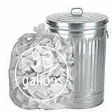 """Cand 33 Gallon Clear Large Trash Bags, 32.6""""x39.8"""", 70 Counts"""