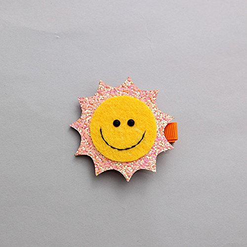 Amazoncom Baby Children Hairpin Rainbow Sun Smiley Cloud Child