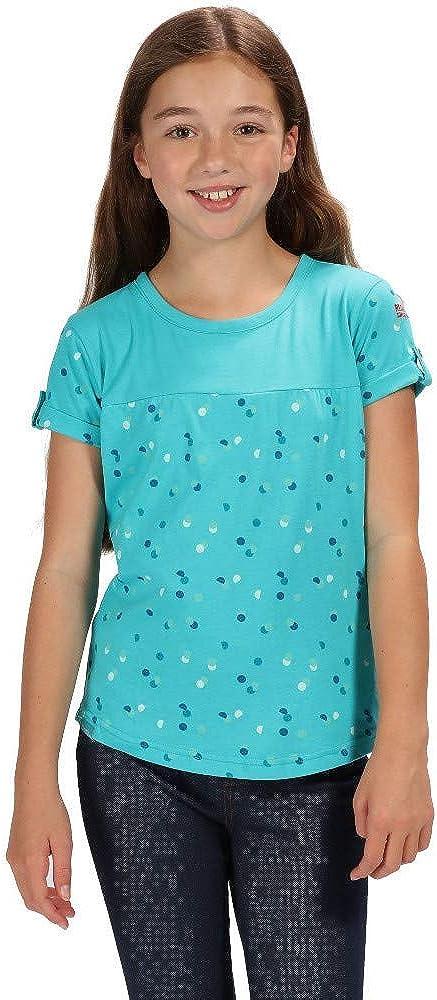 Beb/é-Ni/ños Regatta Cantrelle Coolweave Cotton Jersey Camiseta