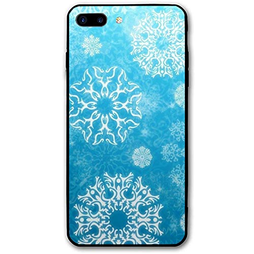 Snowflake Mandala Stylish iPhone 7/8 Plus Cases Hard PC Back Cover Cushion Compatible for iPhone 7/8 Plus