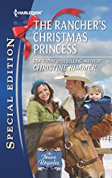 The Rancher's Christmas Princess (The Bravo Royales Book 3)
