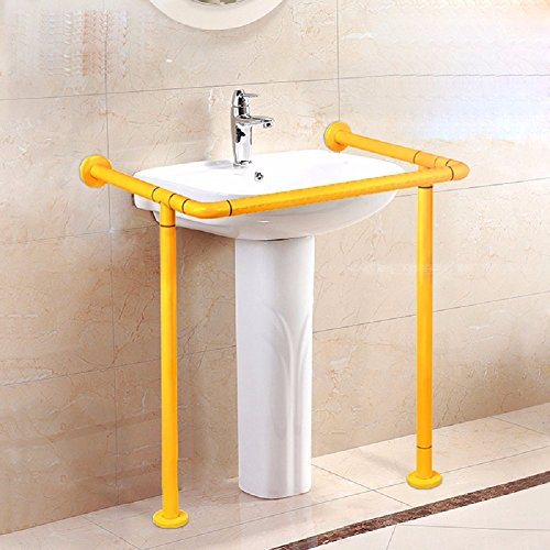 MDRW-Safety Handrail Barrier Column Basin Handrail Basin Handrail Bathroom Armrest For Disabled Old Man by Olici